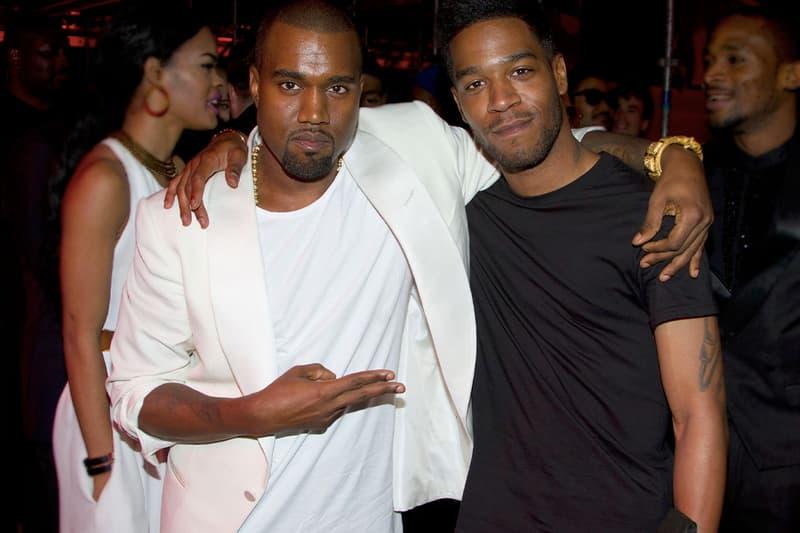 Kanye West Kid Cudi Kids See Ghosts Billboard No. 2