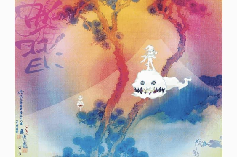 kanye west kid cudi takashi murakami kids see ghosts album artwork inspiration painting manji fuji superflat contemporary art