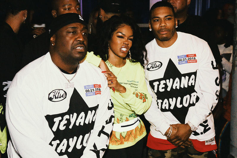 Teyana Taylor 'KTSE' Album Listening Party Pics Migos 2 Chainz