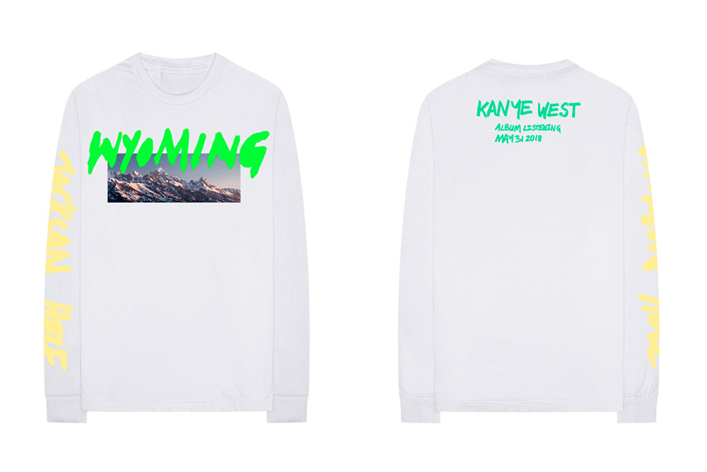 Kanye West 'YE' Listening Party Merch Release | HYPEBEAST