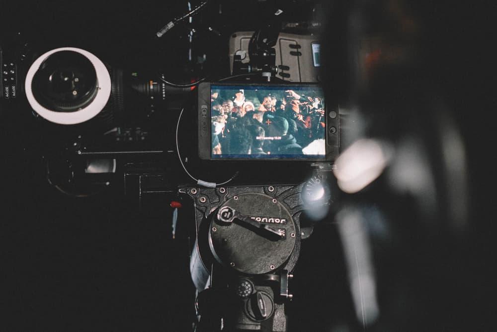 kanye-west-ye-album-wyoming-film-video-camera-crowd-audience