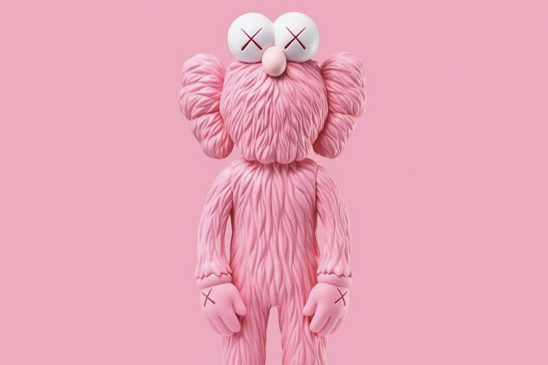 kaws pink bff plush companion kim jones dior victoria beckham