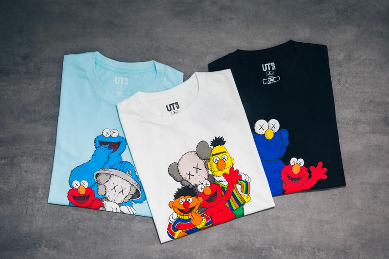 KAWS x Uniqlo UT Sesame Street Collection