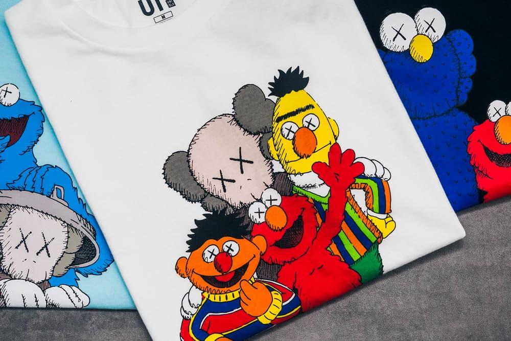 KAWS x Uniqlo UT Sesame Street Collection