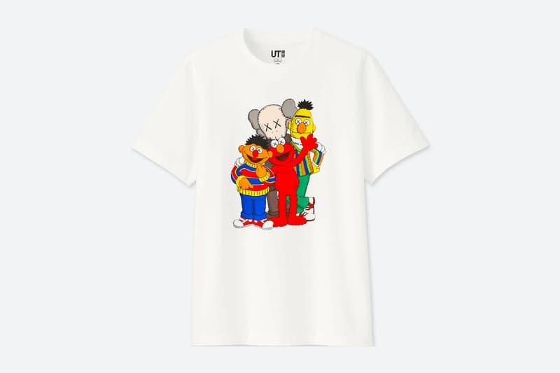 6b1f7c700253e KAWS x Uniqlo UT 'Sesame Street' T-Shirt Collection t-shirt adult