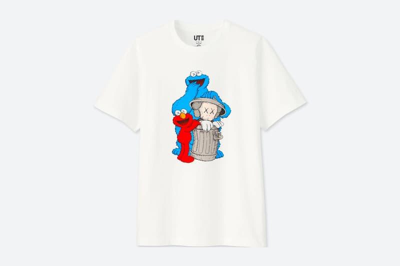 483c51aa KAWS x Uniqlo UT 'Sesame Street' T-Shirt Collection | HYPEBEAST DROPS