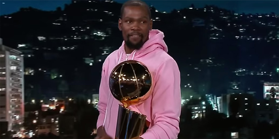 Kevin Durant On Jimmy Kimmel Live Hypebeast Niles standish recruits for his own nba franchise, and hadassah needs maternity clothes. kevin durant on jimmy kimmel live
