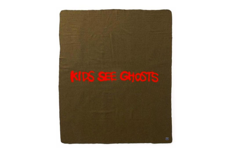 kids see ghosts military blanket merchandise merch order kid cudi kanye west