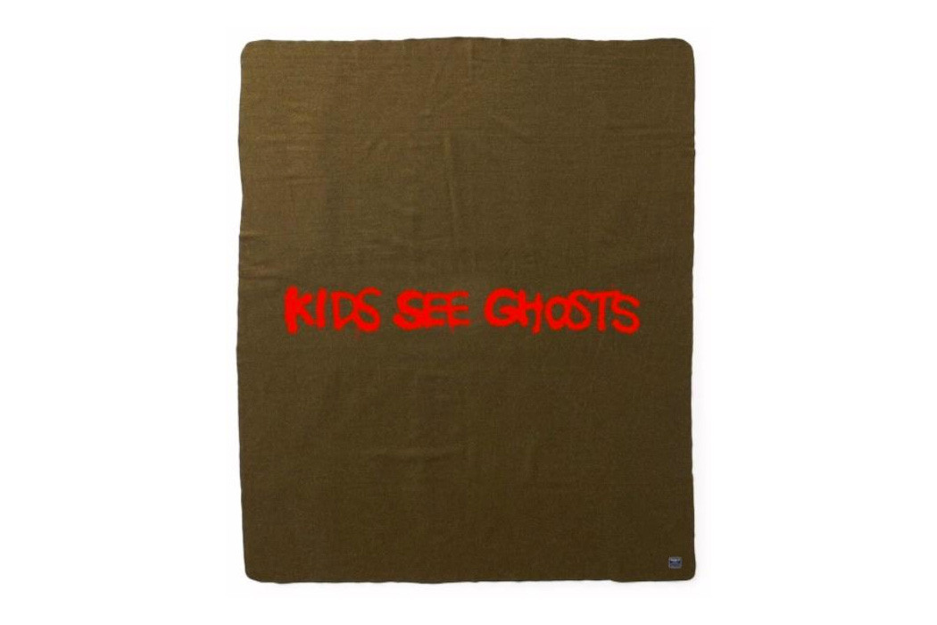 Throw Pillow Case Kid Cudi Kanye West Cushion Cover KIDS SEE GHOSTS MERCH