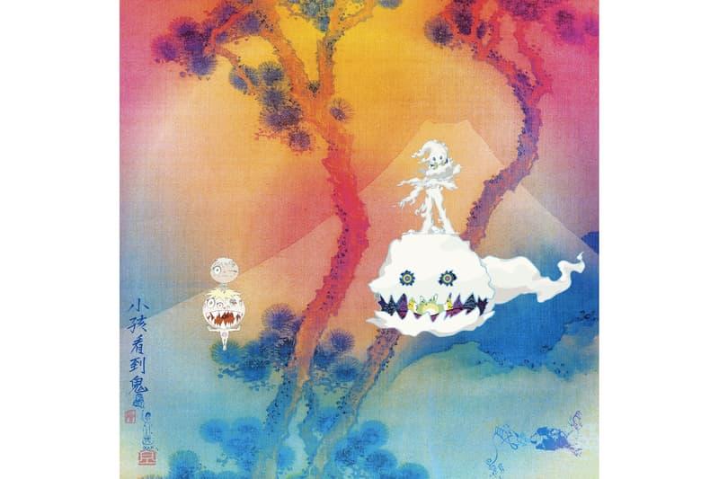 Kid Cudi Kanye West Takashi Murakami Kids See Ghosts Cover Album Art