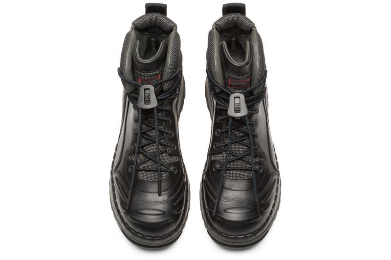 Kiko Kostadinov Camper Closer Look London Fashion Week Boots Camperlab ASICS Kyrie 4 Dad Shoes