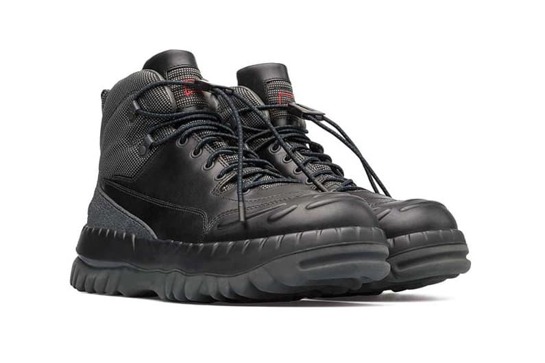 Kiko Kostadinov Camper TEIX Sneaker Boot Black green Release Date Info Drops Dover Street Market London DSML june 15 friday 2018 in store installation event