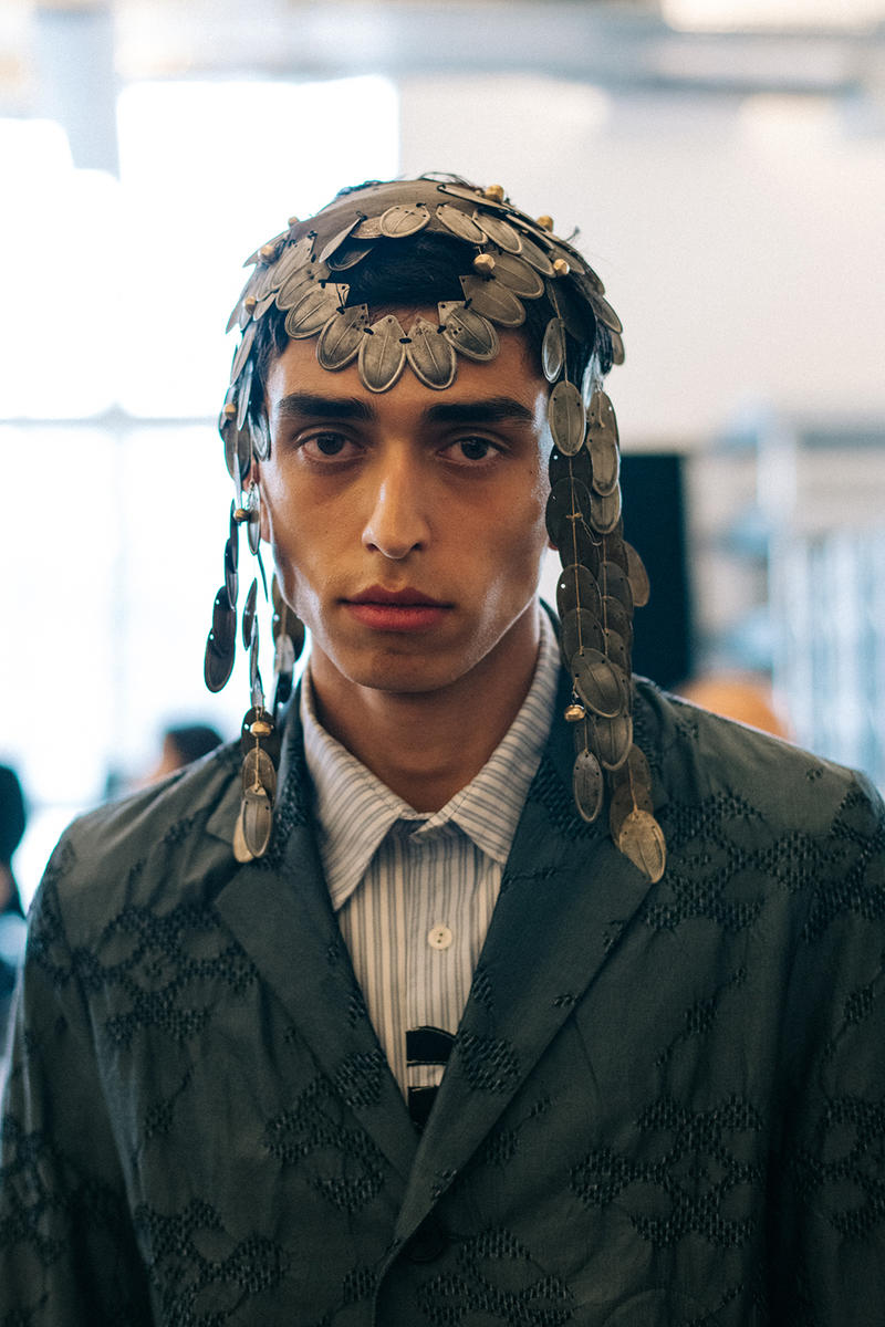 Kiko Kostadinov Spring/Summer 2019 Backstage London Fashion Week: Men's SS19 LFWM Stephen Mann Gimme 5