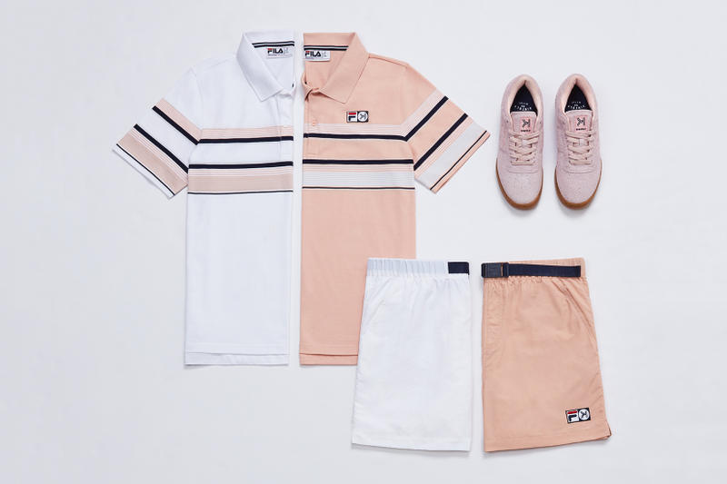 kinfolk fila collaboration menswear apparel fashion footwear sneakers clothing