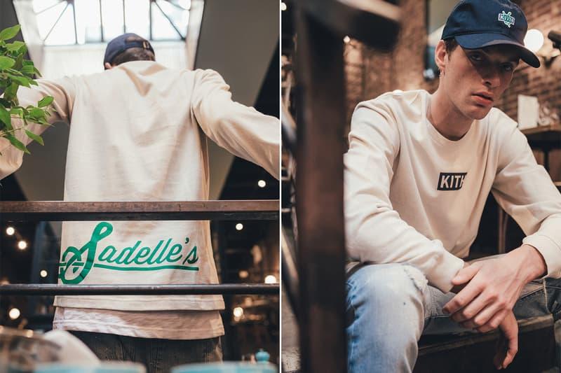 KITH Sadelle's capsule collection 2018 fashion lookbooks
