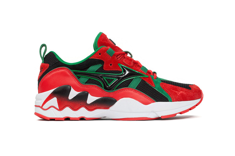 fa24ba8da7292 Michael Dupouy s La MJC agency joined forces with Mizuno on a special Wave  Rider 1 silhouette to commemorate the third anniversary of Dupouy s  co-owned Club ...