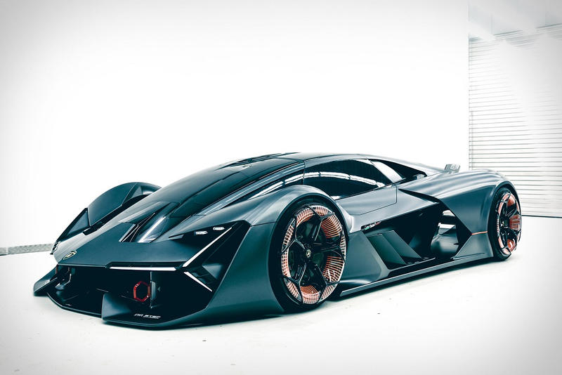 Lamborghini LB48H Hypercar hybrid terzo Terzo Millenio concept 2018 supercar
