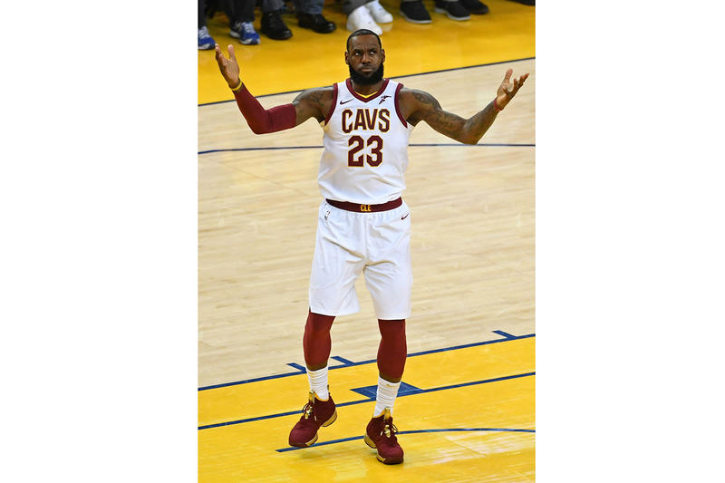 competitive price 85eb4 913ab LeBron Wore a Nike LeBron 15 PE for Game 2 | HYPEBEAST