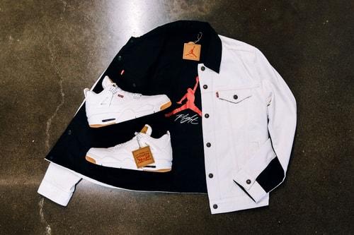 Levi's® x Air Jordan 4 Pack Gets a Global Drop Date