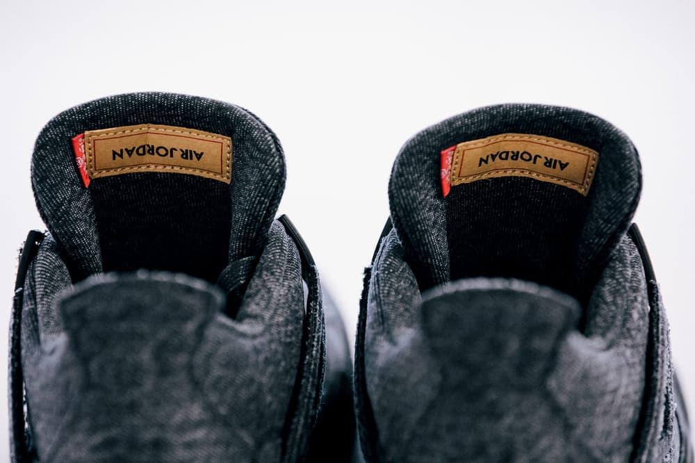 Levis air jordan 4 black and white global release date 2018 june footwear