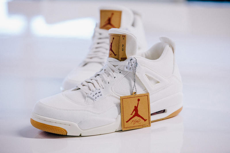 Levis air jordan 4 black and white global release date 2018 june footwear