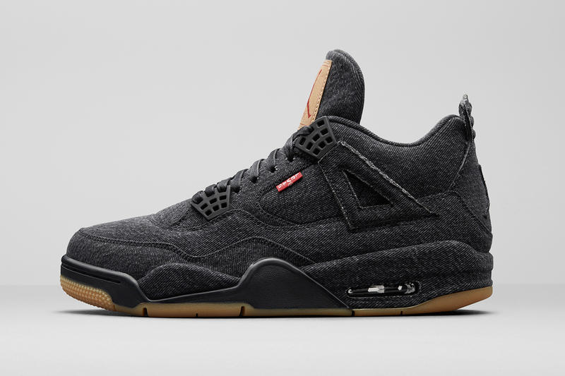 on sale 68067 10373 Levis x Air Jordan 4 Black & White Release Date | HYPEBEAST