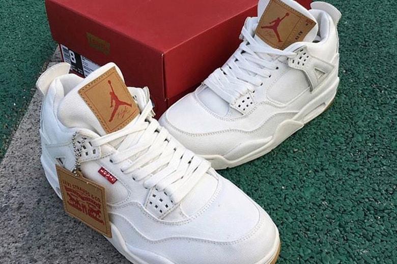 pretty nice 0da64 a06d3 Levi's x Air Jordan 4