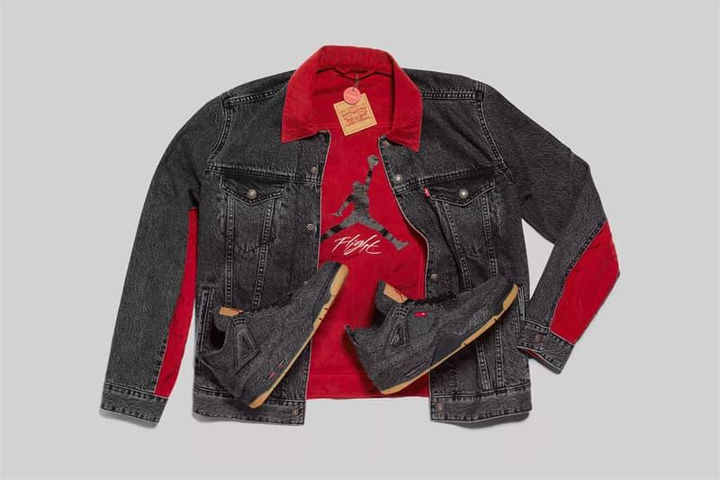 size 40 d2c4e 33d0f Levi's & Jordan Brand White & Black Denim Jacket | HYPEBEAST