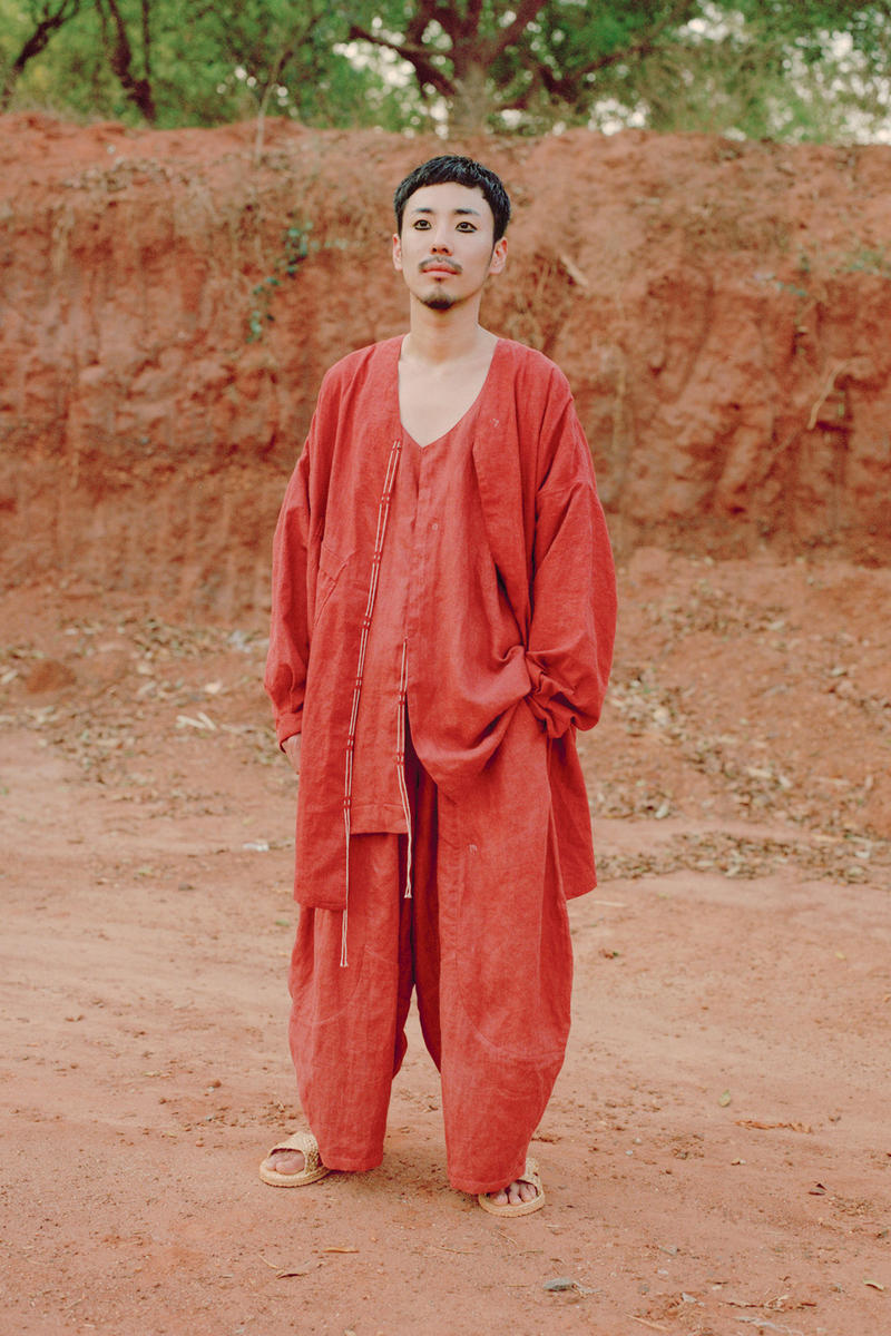"""LOESS Spring/Summer 2019 """"Sun Up"""" Lookbook Story mfg Release Information Pre Order Ethical Sustainable Fashion Details"""