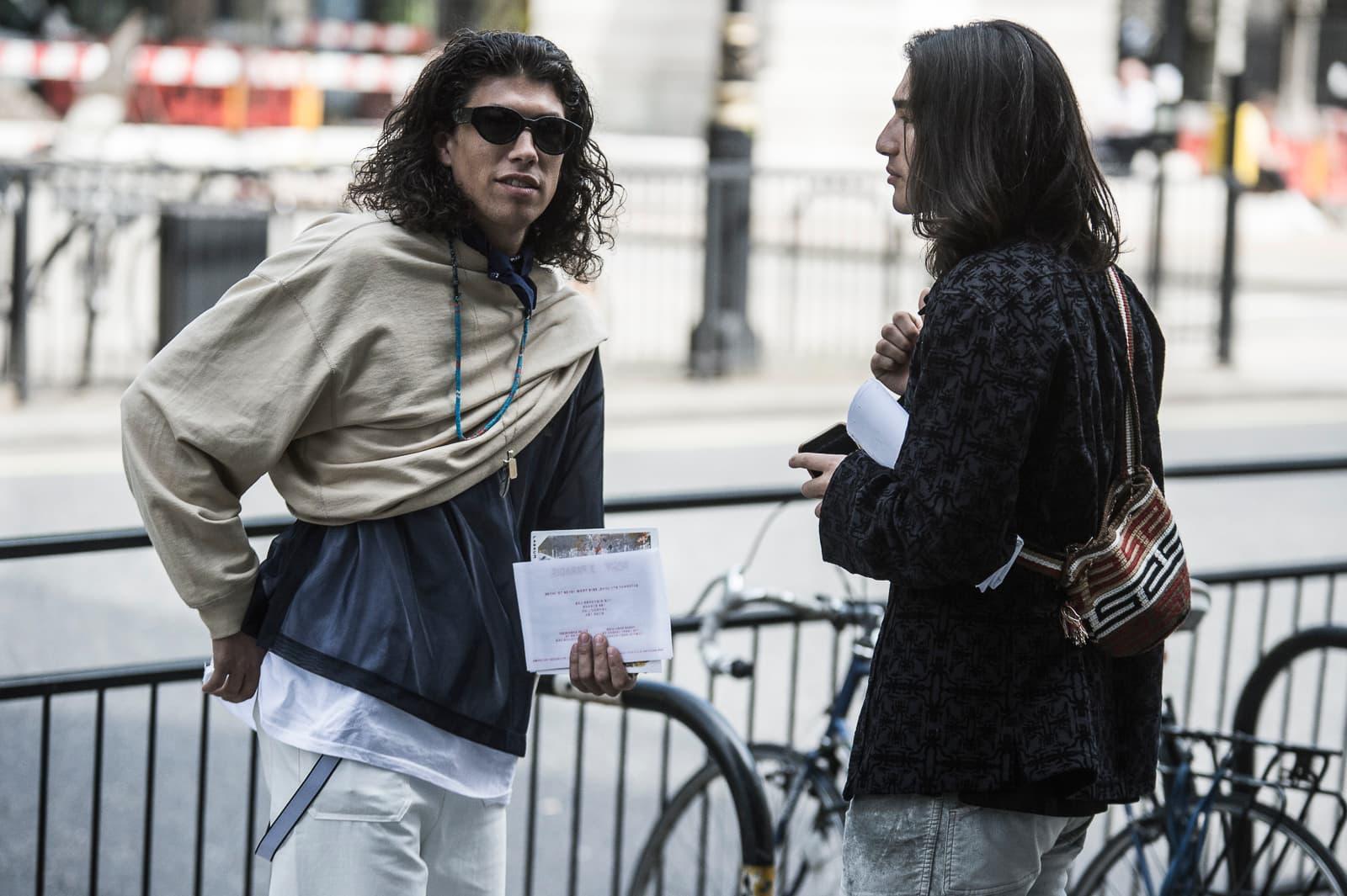 London Fashion Week Men S Ss19 Street Style Hypebeast