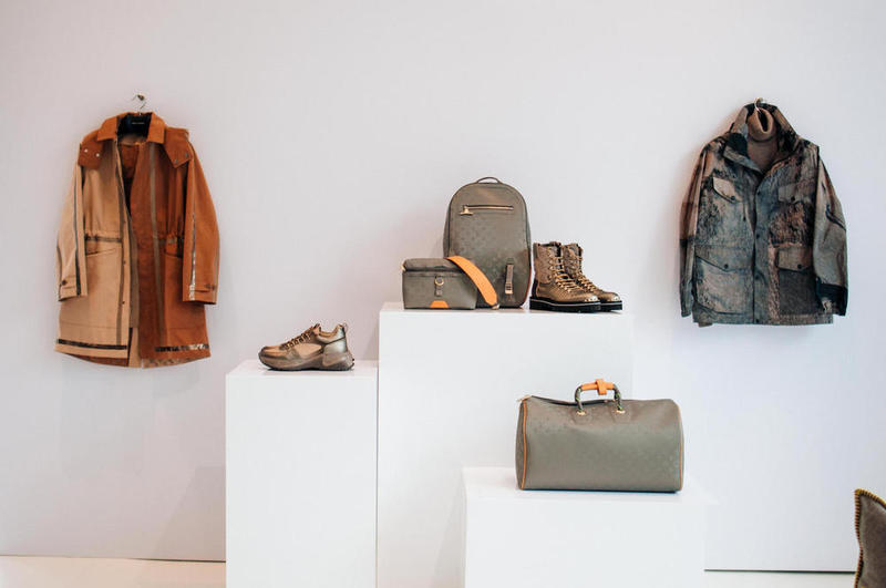 Louis Vuitton Fall/Winter 2018 Closer Look Kim Jones Nicholas Ghesquire Archlight Sneakers Outerwear Coats Bags Accessories Wallet Leather goods Luxury