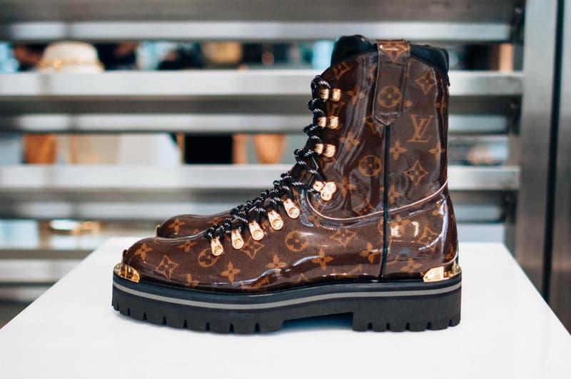 5ff640025d3 Louis Vuitton Fall Winter 2018 Closer Look Kim Jones Nicholas Ghesquire  Archlight Sneakers Outerwear Coats