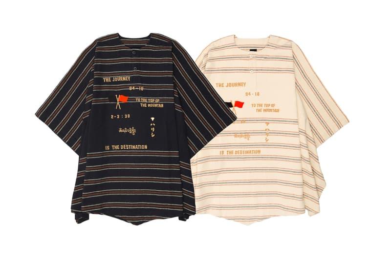 maharishi Vietnamese Powerloom Loom Jacket Poncho Capsule Release Information Details