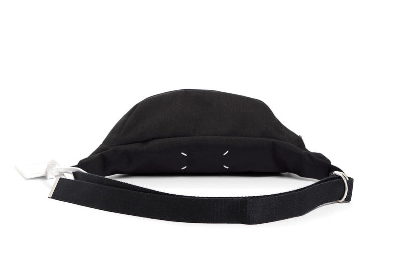 Maison Margiela Fall Winter 2018 Pouch Waist Bag fanny pack bumbag accessories release info black