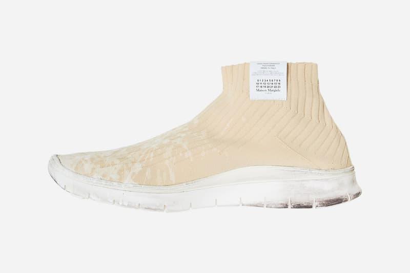 Maison Margiela Painter Sockrunner Beige release info sneakers footwear