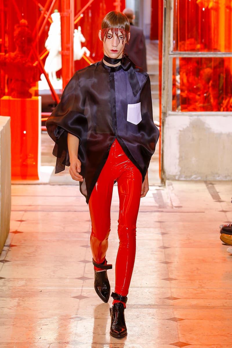 Maison Margiela spring summer 2019 runway collection john galliano Artisinal mens paris fashion week couture