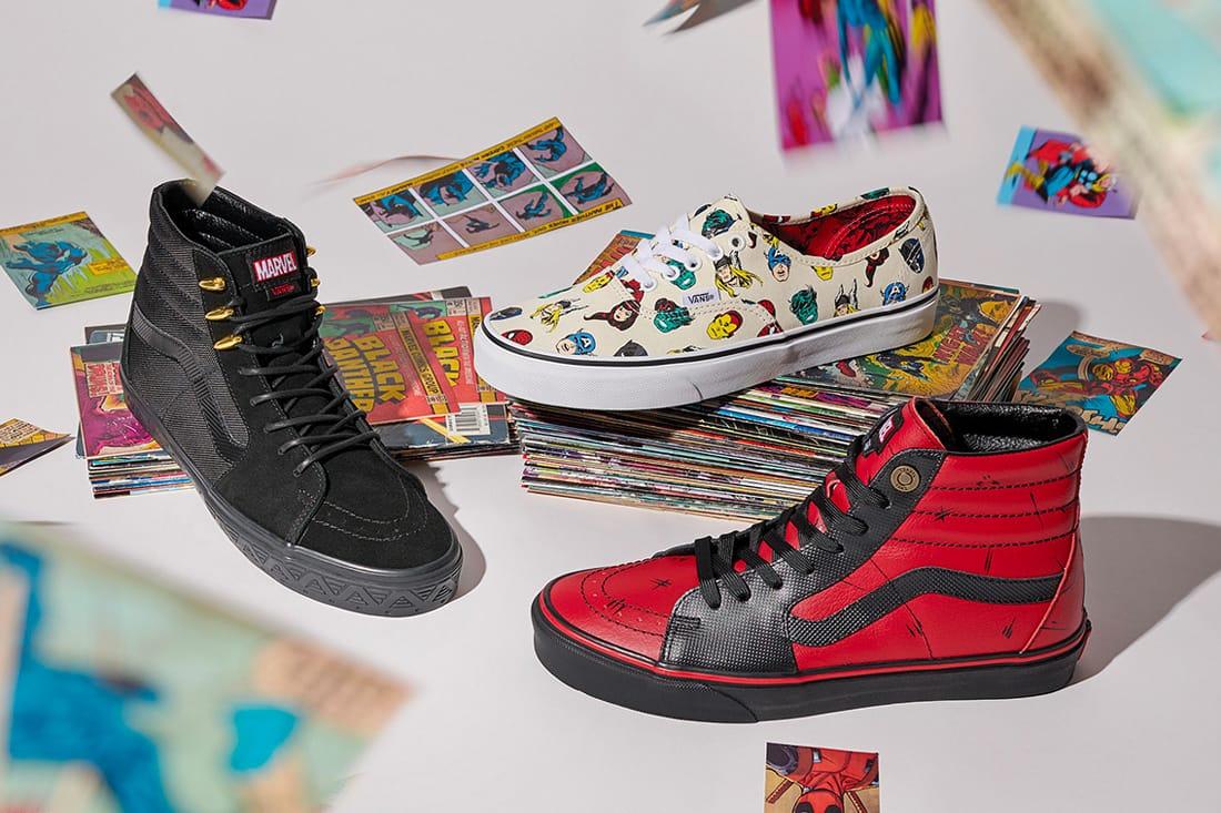 iron man vans shoes