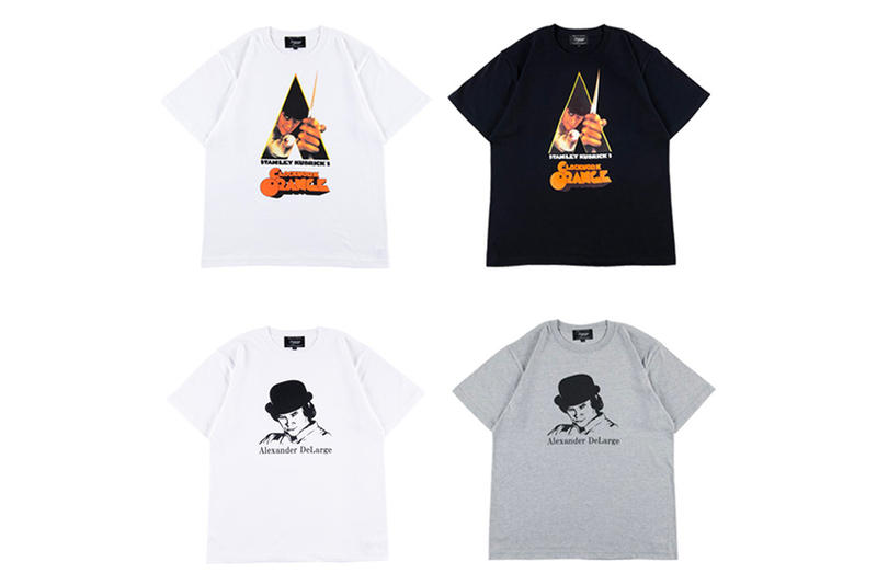 2b69833a Medicom Toy A Clockwork Orange T-Shirts grey white black stanly kubrick  release info