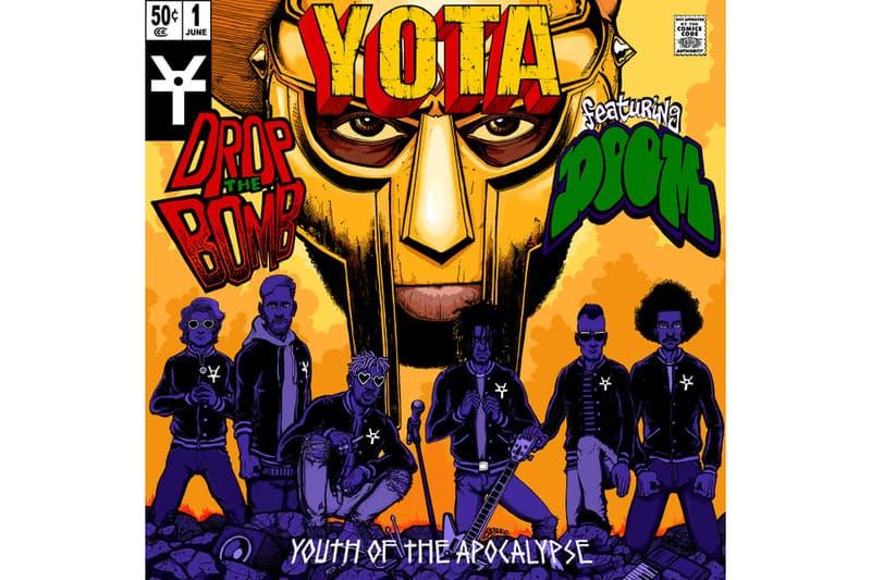 MF Doom YOTA Youth of the Apocalypse Drop The Bomb single stream june 1 2018 release date info drop debut premiere apple music spotify