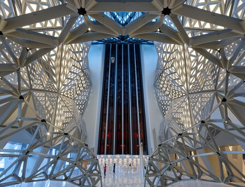 morpheus hotel zaha hadid macau cotai KAWS Interior Design First Look Opening City of Dreams