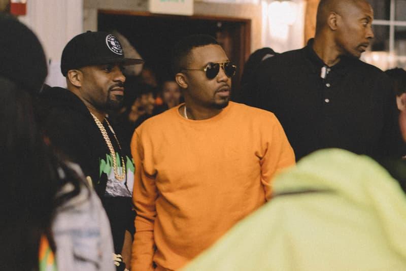 Kanye West Nas Album tracklist teaser ye