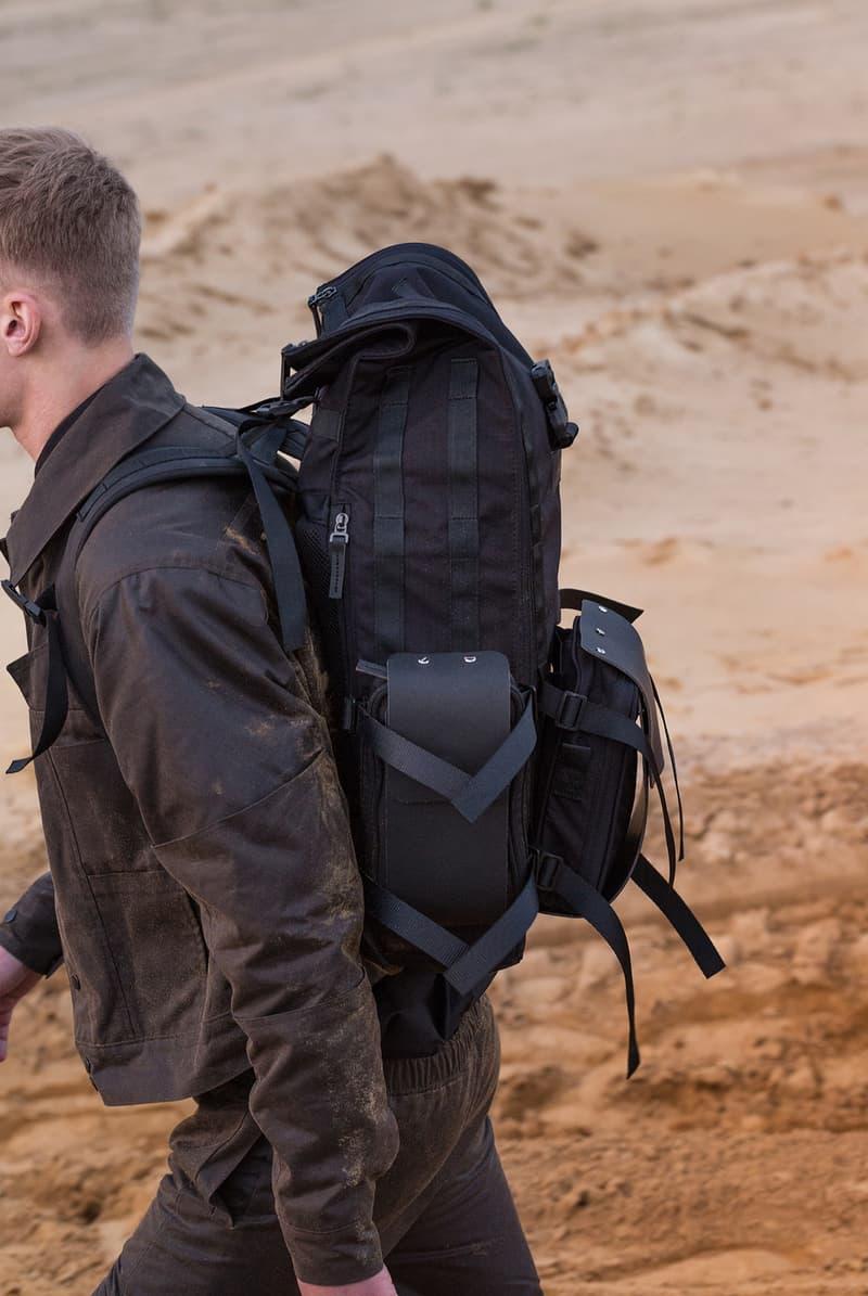 NAUT NOMAD Backpack travel techwear accessories bags prague streetwear