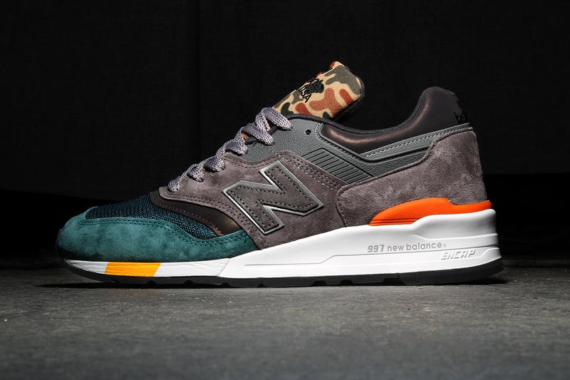 New Balance 997 Camo grey green 998 Blue Navy june 2018 release date info drop debut premier sneakers shoes footwear colorways