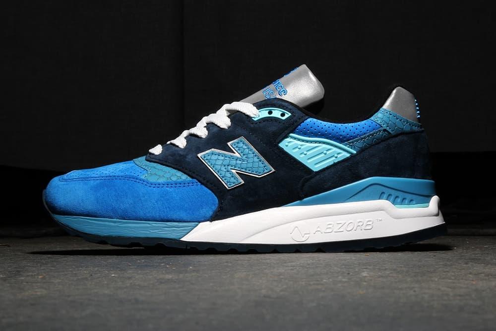 New Balance 997 Camo grey green 998 Blue Navy june 2018 release date info drop debut premier sneakers shoes footwear colorways