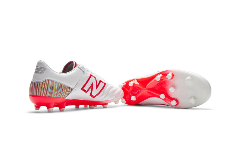 Paul Smith New Balance 576 MiUK One Football Footballs Boots Stripes Collaboration Release Details