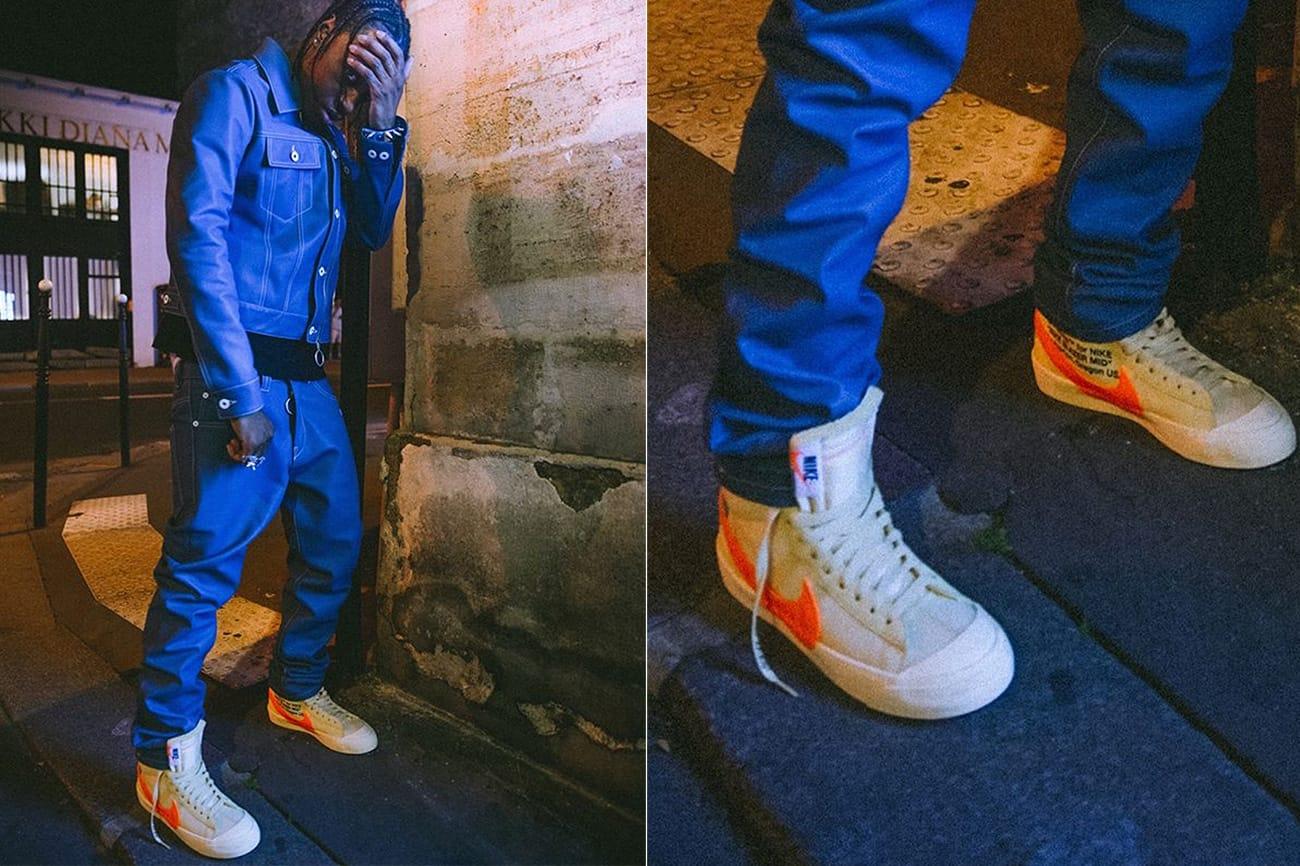 x Nike Blazer Paris Fashion Week