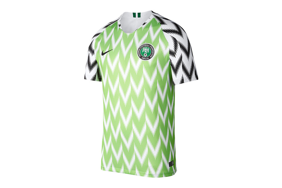 aa0f8c4bb2a Nike's Sold-Out Nigerian World Cup Jersey Is Reselling for Three Times the  Price
