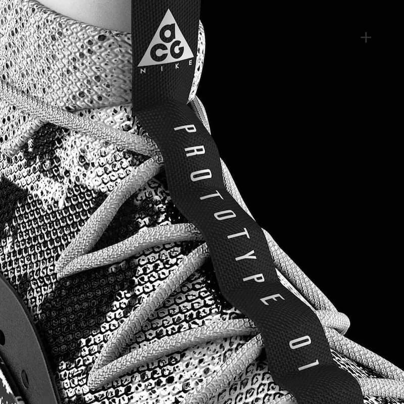 Janis Sne Nike ACG 3D Flyprint Concept