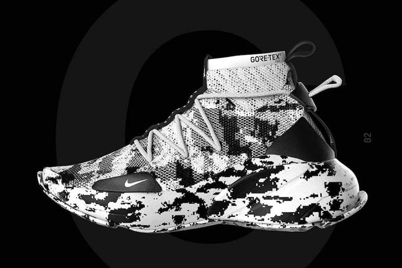 Amsterdam-based Janis Sne takes cues from Nike s 3D-printed tech. Janis Sne  Nike ACG 3D Flyprint Concept 1f243b834