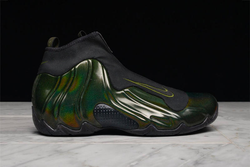 "Nike Air Flightposite 1 ""Legion Green"" release date info price sneaker"